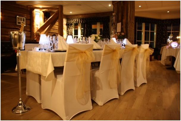 Stoltrekk hvite til bryllup   Nettbutikk med WOW produkter